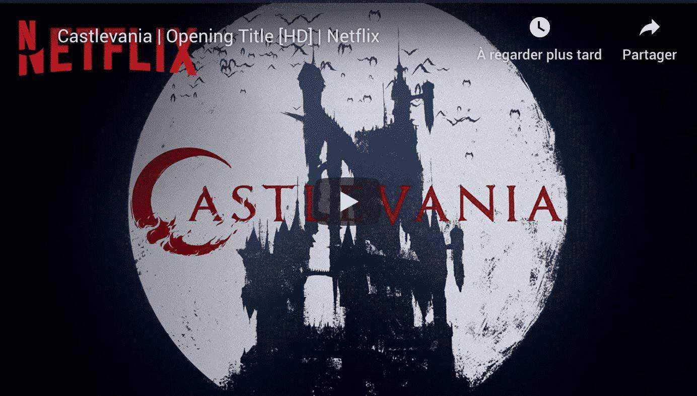 Castlevania : Netflix annonce une deuxième saison 3