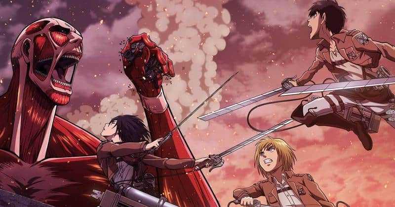 Attaque des Titan saison 3 3