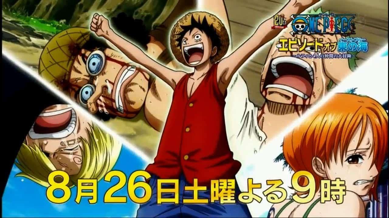 One Piece-Episode de East Blue sort de nouvelles vidéos