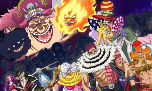 One piece - Description de la transformation que subira BIG MOM 16
