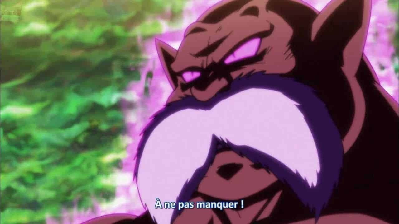 Dragon ball super 125 Vostfr le dieu de la destruction Toppo descend !! 5