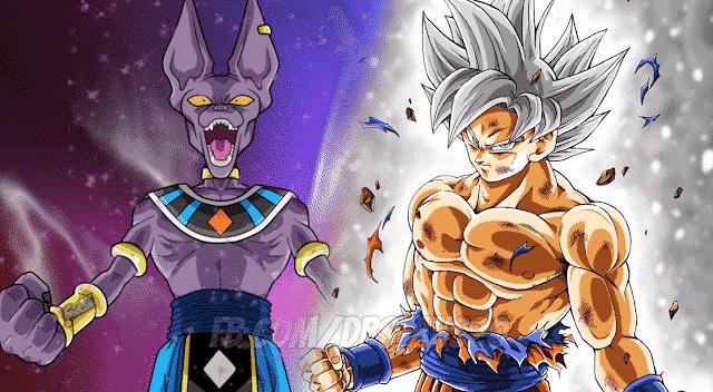 Goku Ultra Instinct vs Beerus Dieux de la Destruction Qui est le plus puissant? 22