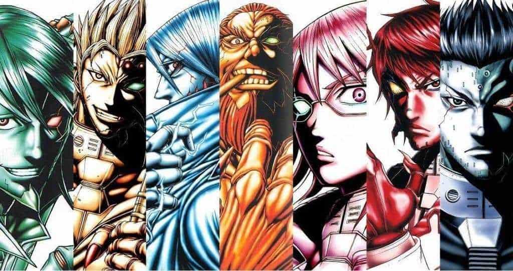Terra Formars Manga revient d'une longue pause. 18