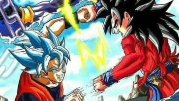 Dragon Ball Heroes : Synopsis pour le épisode 1 du nouveau anime (Goku ssj4 vs. Goku Blue) 25
