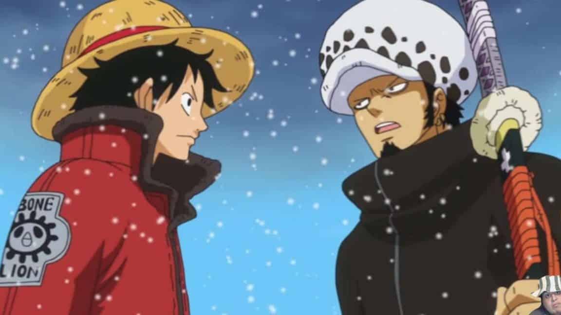 One Piece Chapitre 914 - Zoro et le Luffy avec le Nidai Kitetsu 22