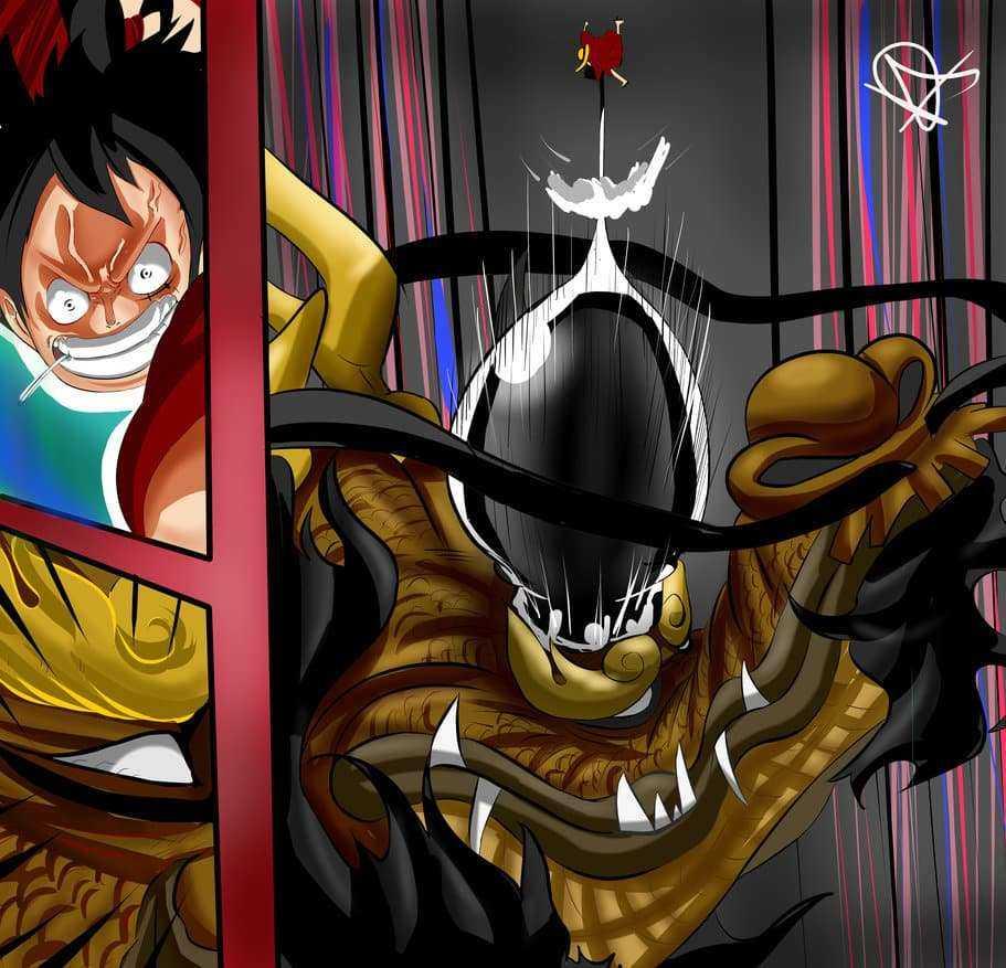 One Piece chapitre 922 - Kaido vs Luffy 25