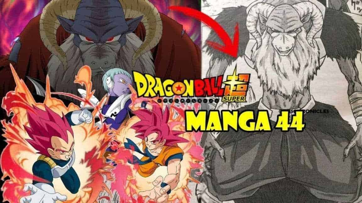 Les spoilers Dragon Ball Super Chapitre 44
