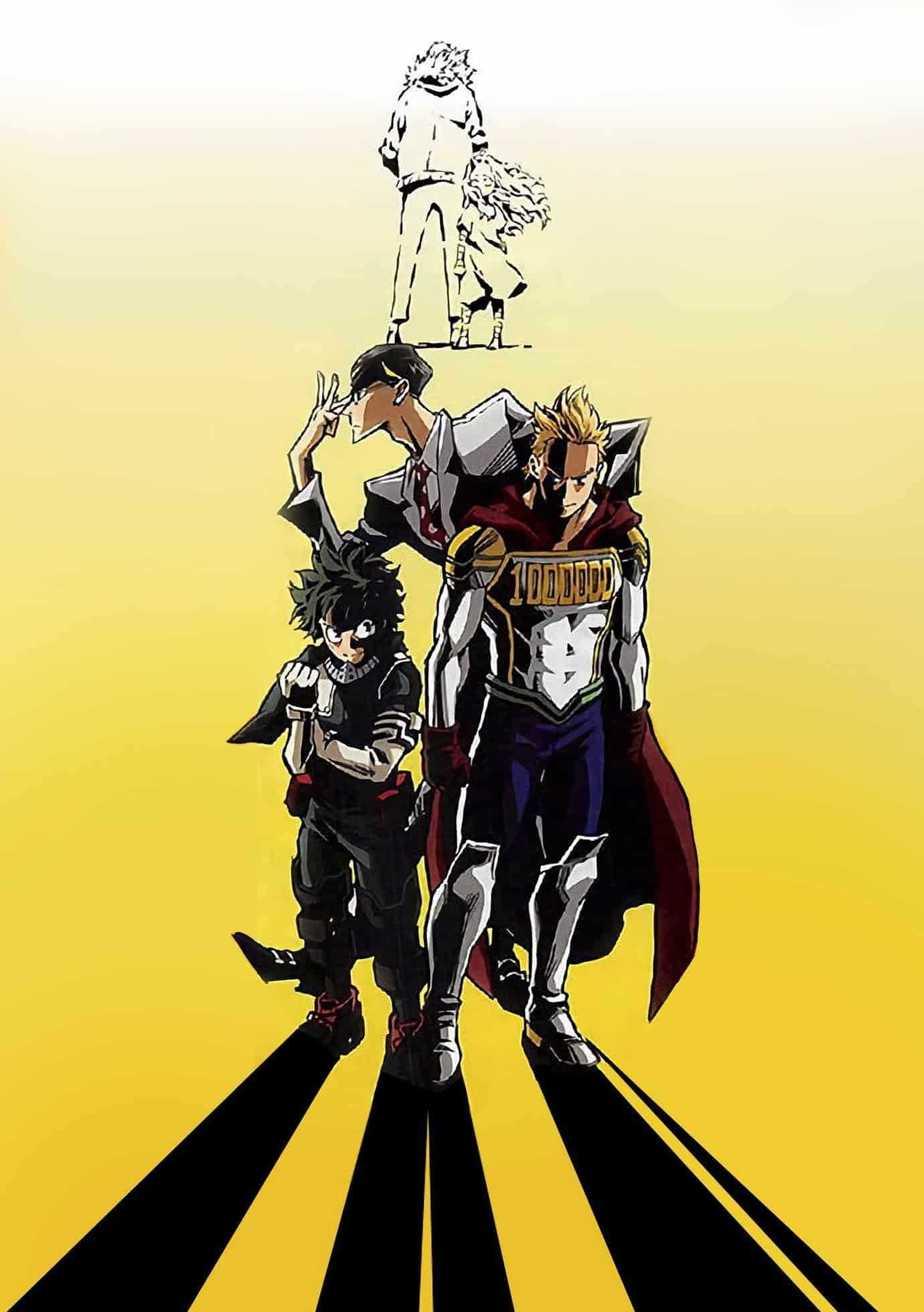 My Hero Academy | La saison 4 a déjà une date de début 5
