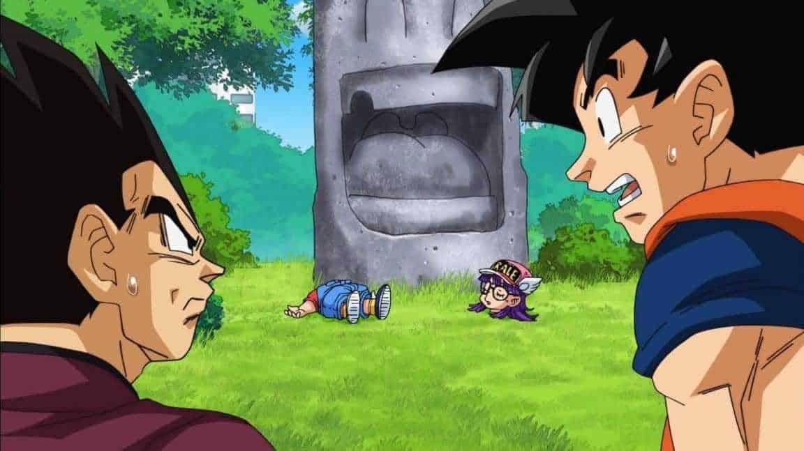 Spoilers épisode 69 « Dragon Ball Super » : prochain épisode intègre le code arc nouvelle ? Goku se bat avec Arale 1