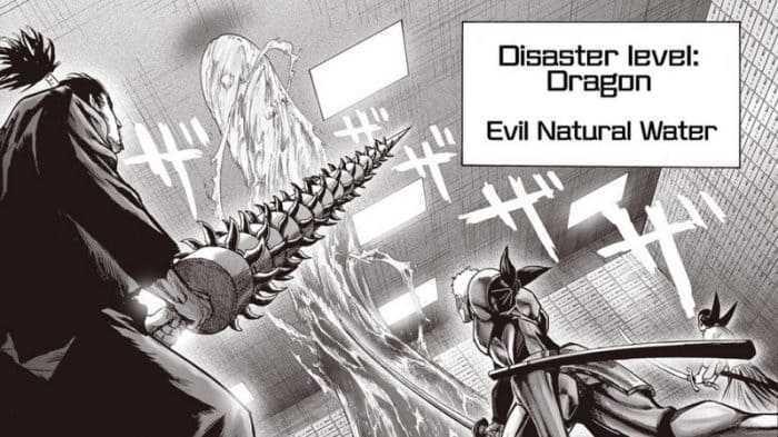 One-Punch Man chapitre 114: 2 monstres de niveau dragon en action! 7
