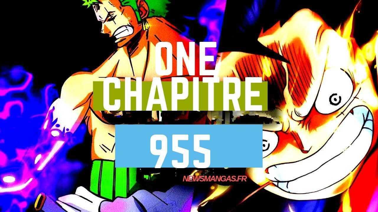 One Piece Chapitre 956 Date de publication