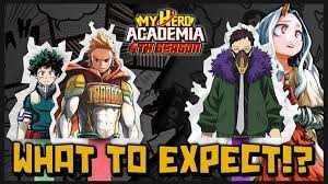 My Hero Academia - Saison 4: le nouveau visuel clé de l'anime 1