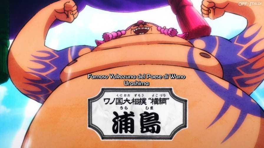 One Piece : L'arc de Wano présente un nouveau méchant colossal 7