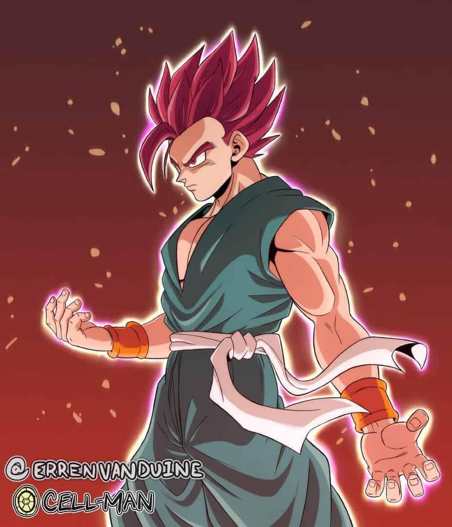 Super Saiyan God Gohan prend vie dans un nouveau fan-art 9