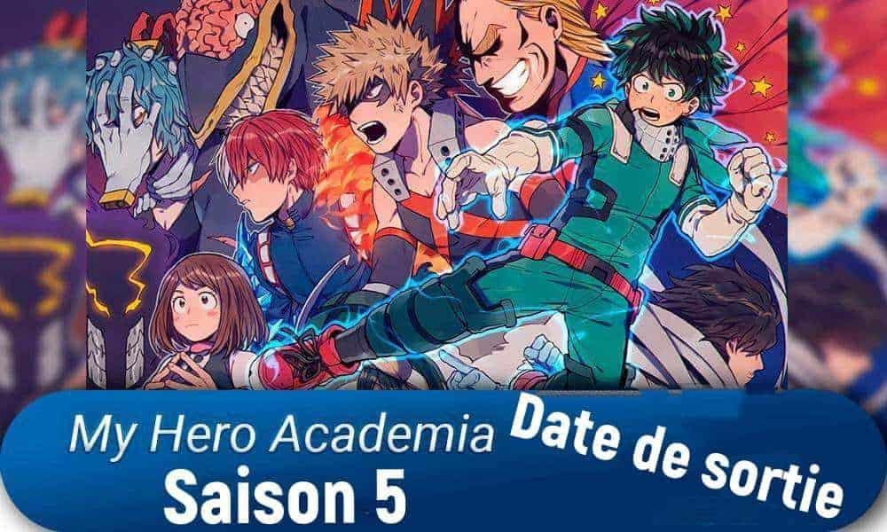 Date de Sortie My Hero Academia Saison 5 1