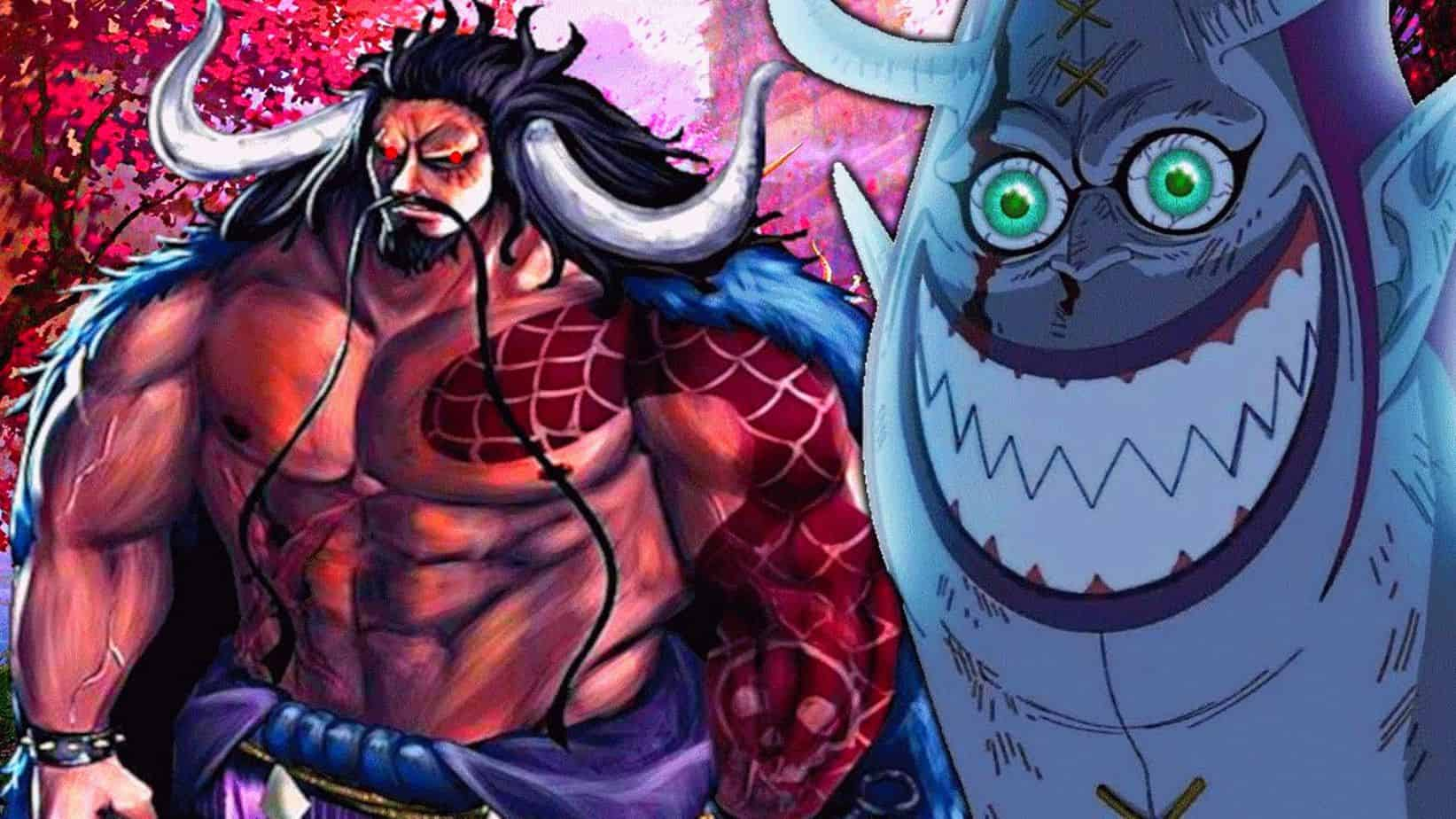 One piece Chapitre 969: Spoilers officiels _Kaido vs Gecko Moria 15