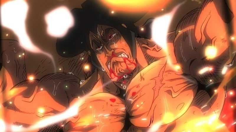 One piece chapitre 972 La mort d'une légende - Le sacrifice de Kozuki Oden 1