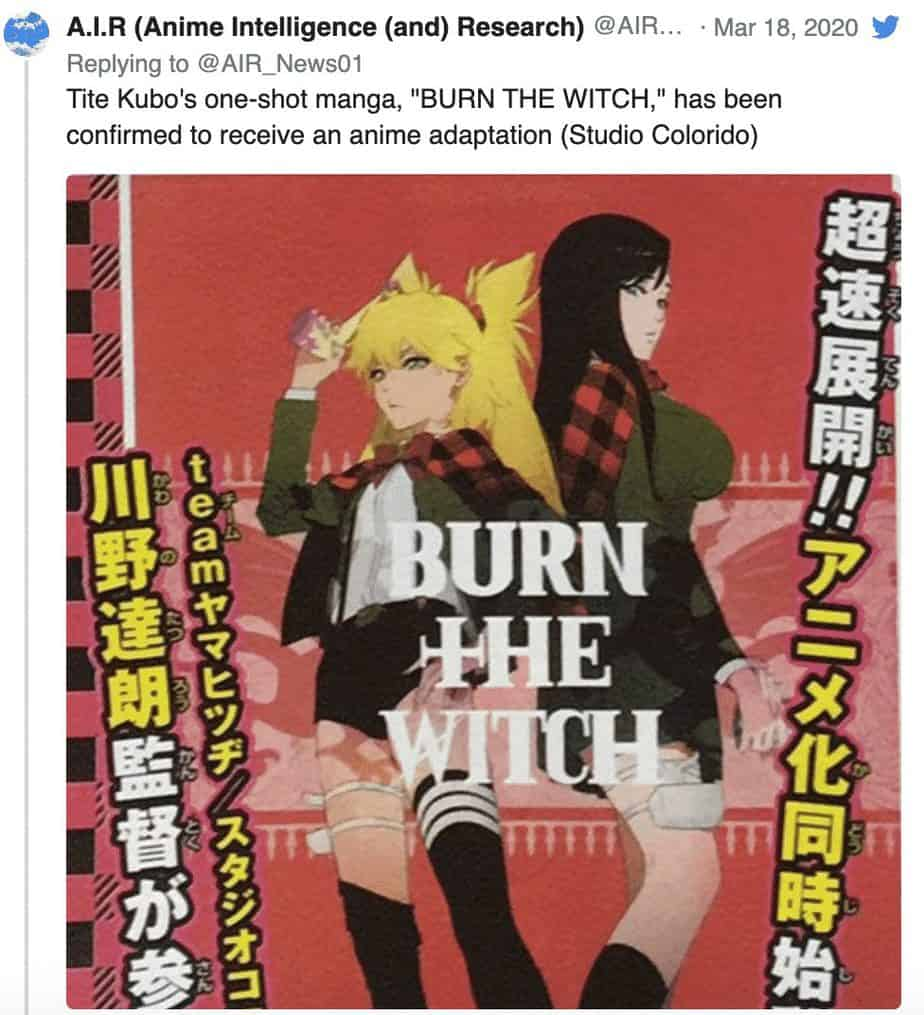 Annonce de l'anime Bleach Thousand blood war, date de sortie, autres nouveaux anime 22