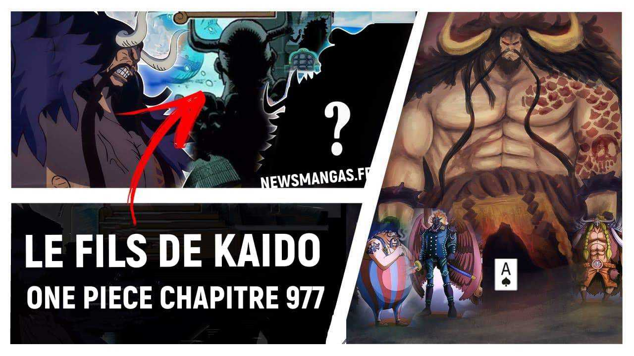 One Piece Chapitre 977 Spoilers [Nouvelle information] : Le fils de Kaidou dévoilé 14