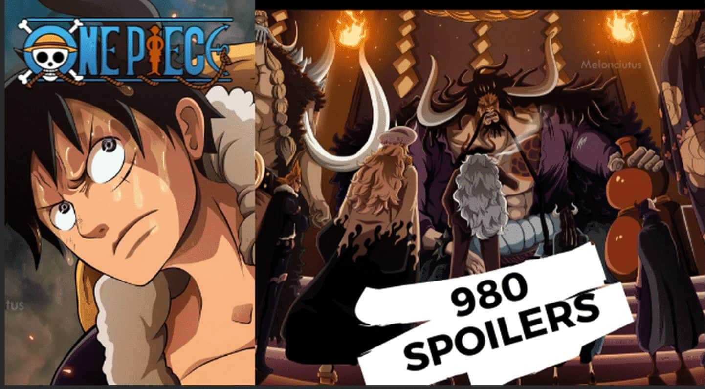 One piece chapitre 980 spoilers 3