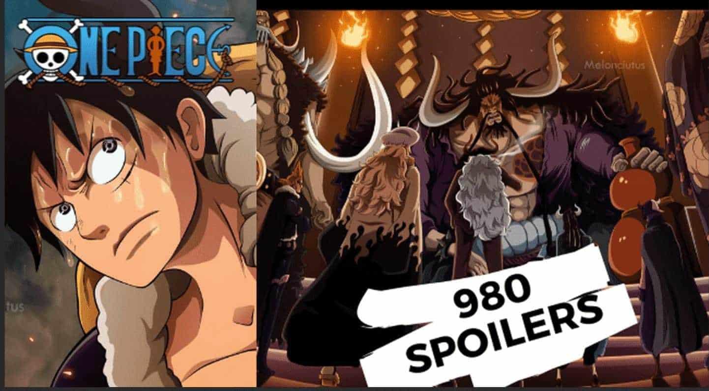 Les Spoilers One piece chapitre 980 15