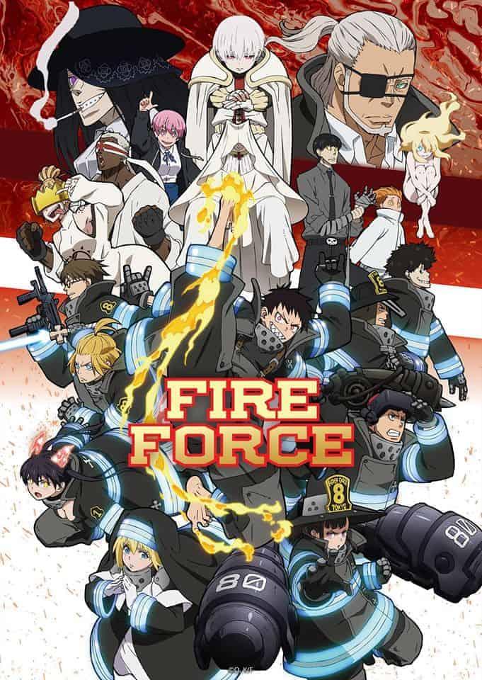 fire-force-saison-2-juillet-2020 3