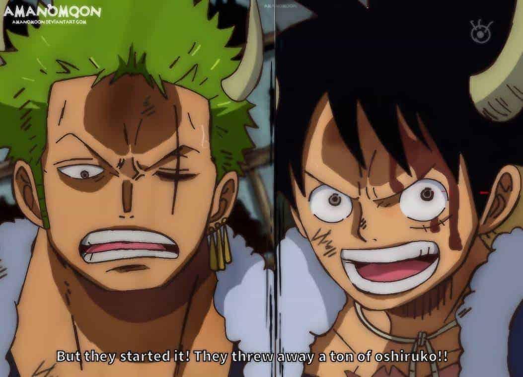 Les Spoilers One Piece Chapitre 981 Date de Sortie 21