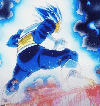 Dragon Ball Super Chapitre 61 Moro Vs Vegeta Blue Power Up 2