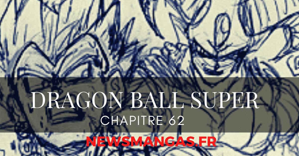 Premier aperçu du Chapitre 62 de Dragon Ball super 23