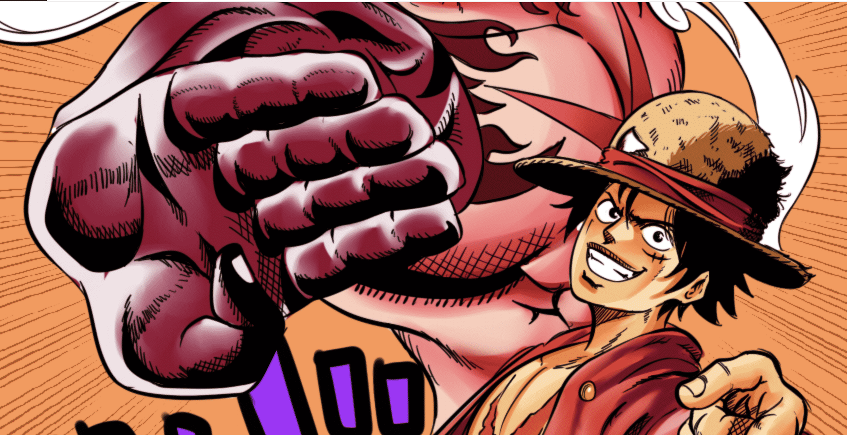 Un fan de One Piece réimagine Luffy et Brook avec le style jojo bizarre adventure 15