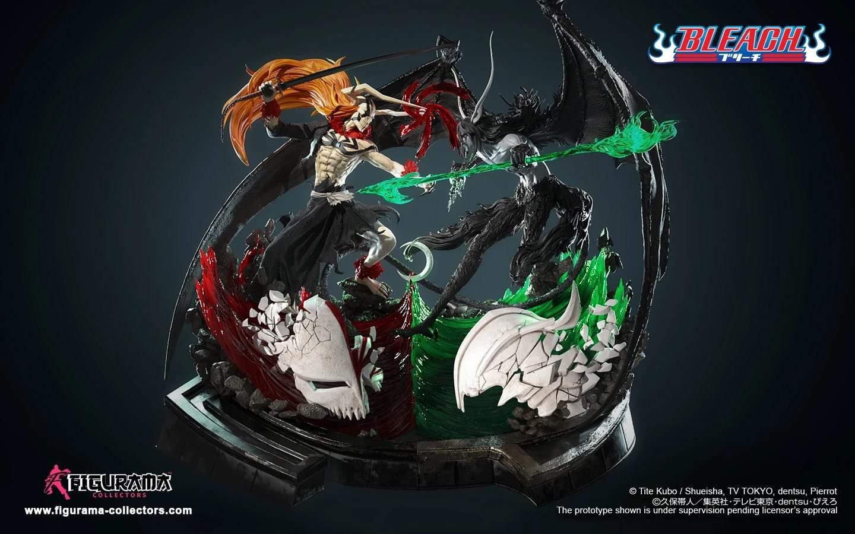 Une statue incroyable recrée le combat d'Ichigo avec Ulquiorra dans Bleach 22