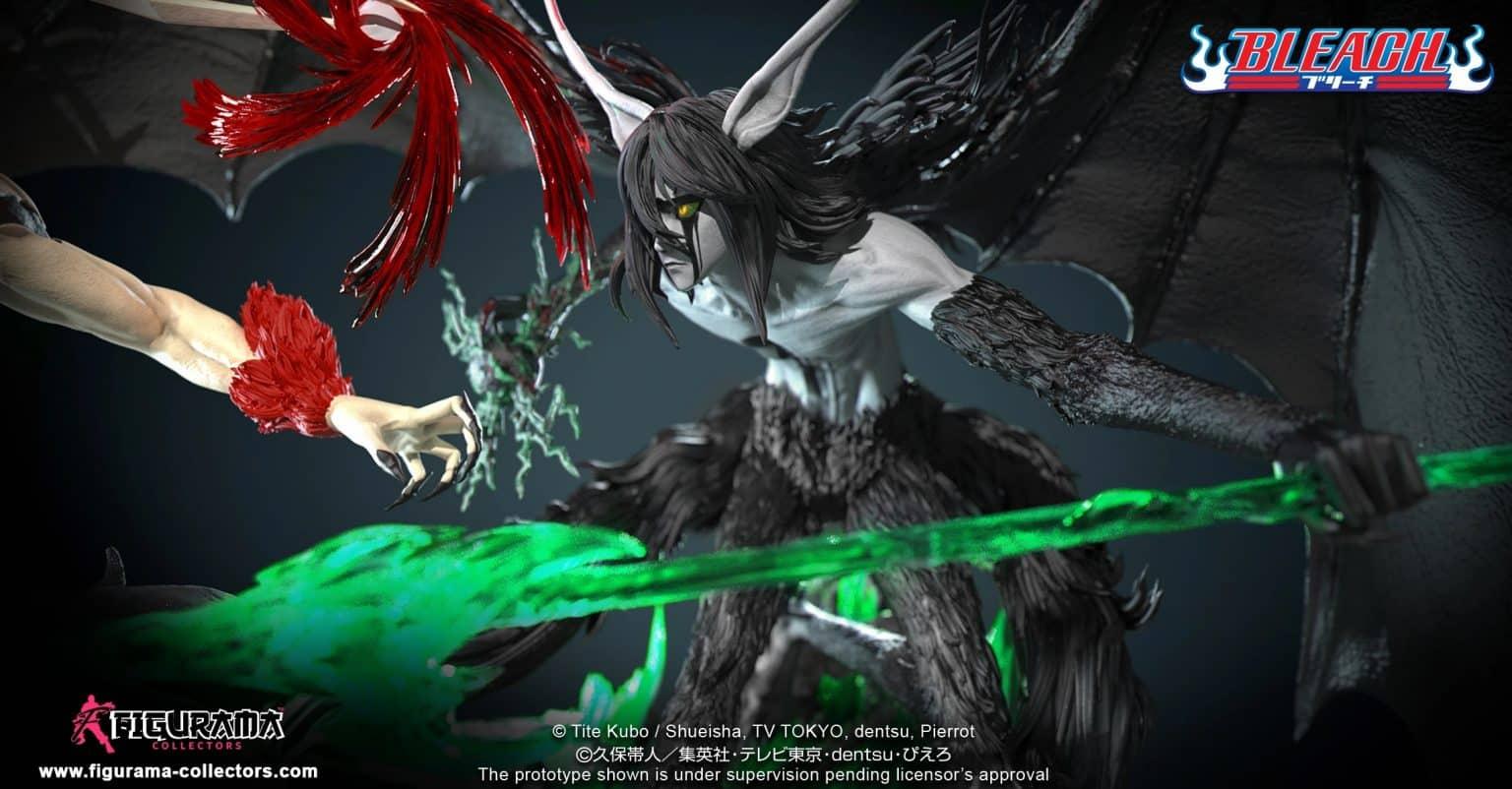Une statue incroyable recrée le combat d'Ichigo avec Ulquiorra dans Bleach 24
