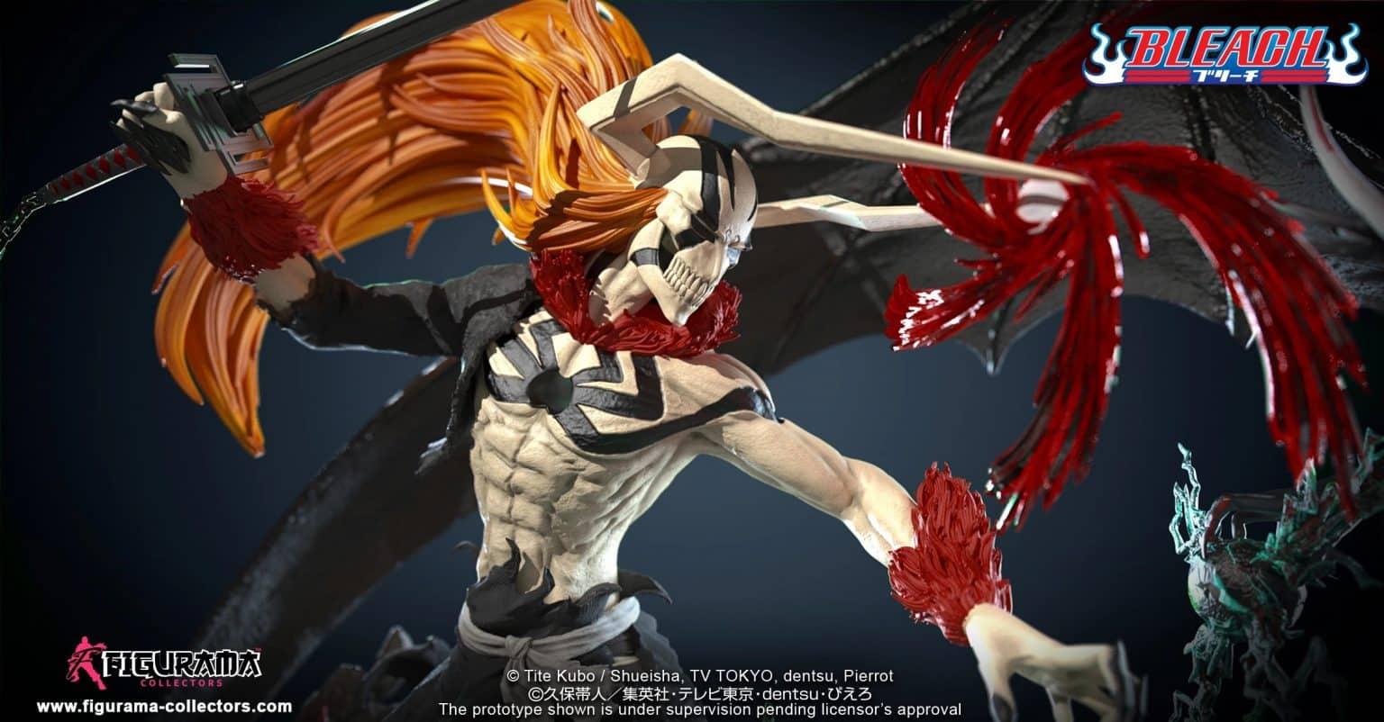 Une statue incroyable recrée le combat d'Ichigo avec Ulquiorra dans Bleach 23