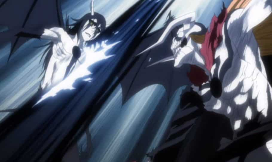Une statue incroyable recrée le combat d'Ichigo avec Ulquiorra dans Bleach 1