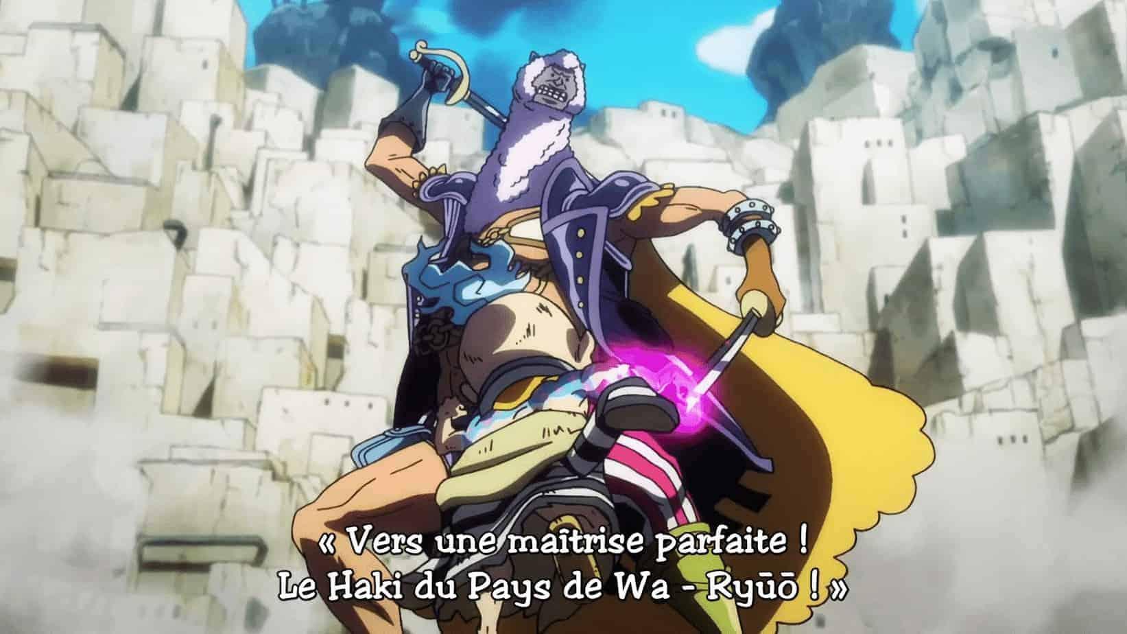 One piece 936 vostfr - Vers La Maîtrise parfaite le Haki du Pays du Wa-Ryūō ! 1