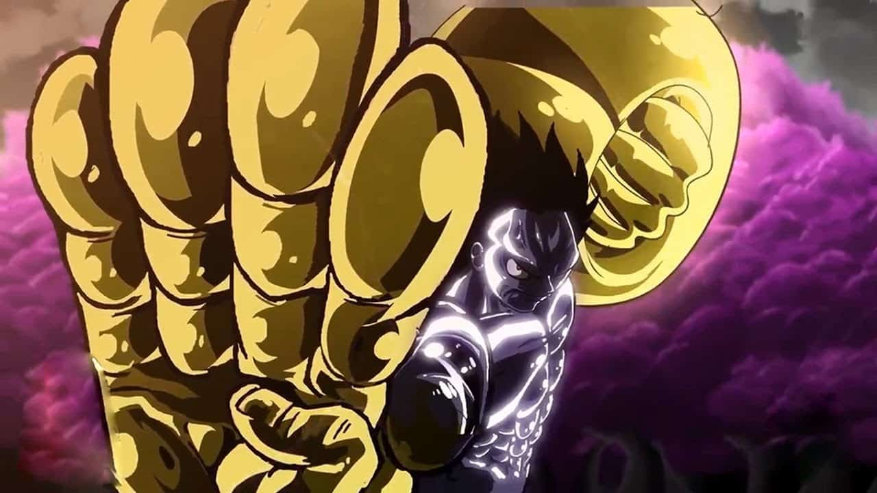 One piece le nouveau Haki doré de Monkey D. Luffy semble très familier 23