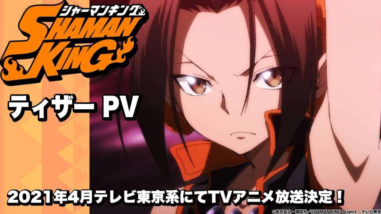 Le casting et le teaser du nouveau Shaman King Anime sont dévoilés