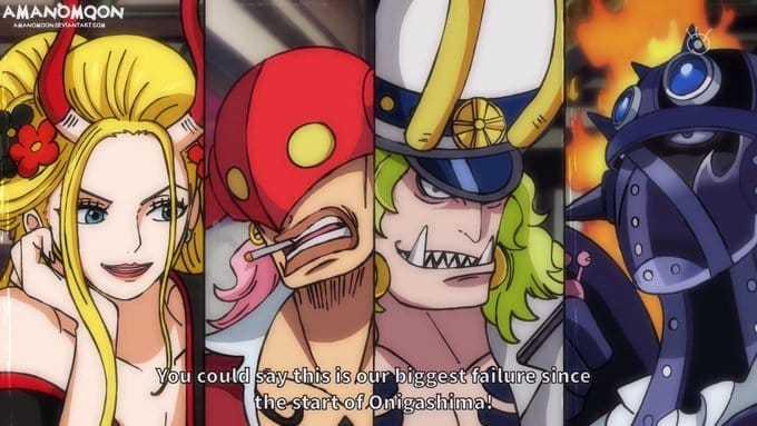 Les Spoilers One Piece Chapitre 991 Date de sortie 5