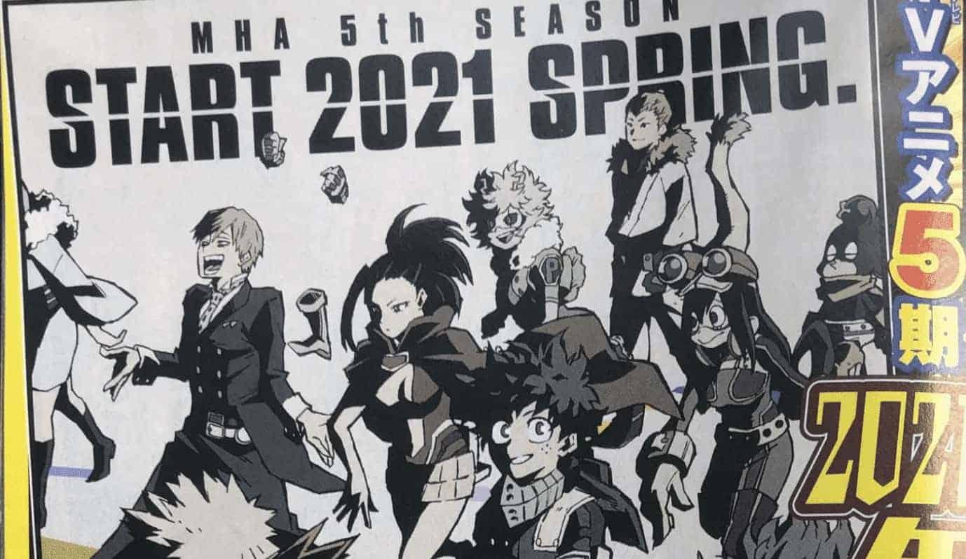 Confirmé : My Hero Academy saison 5 en avril 2021 16