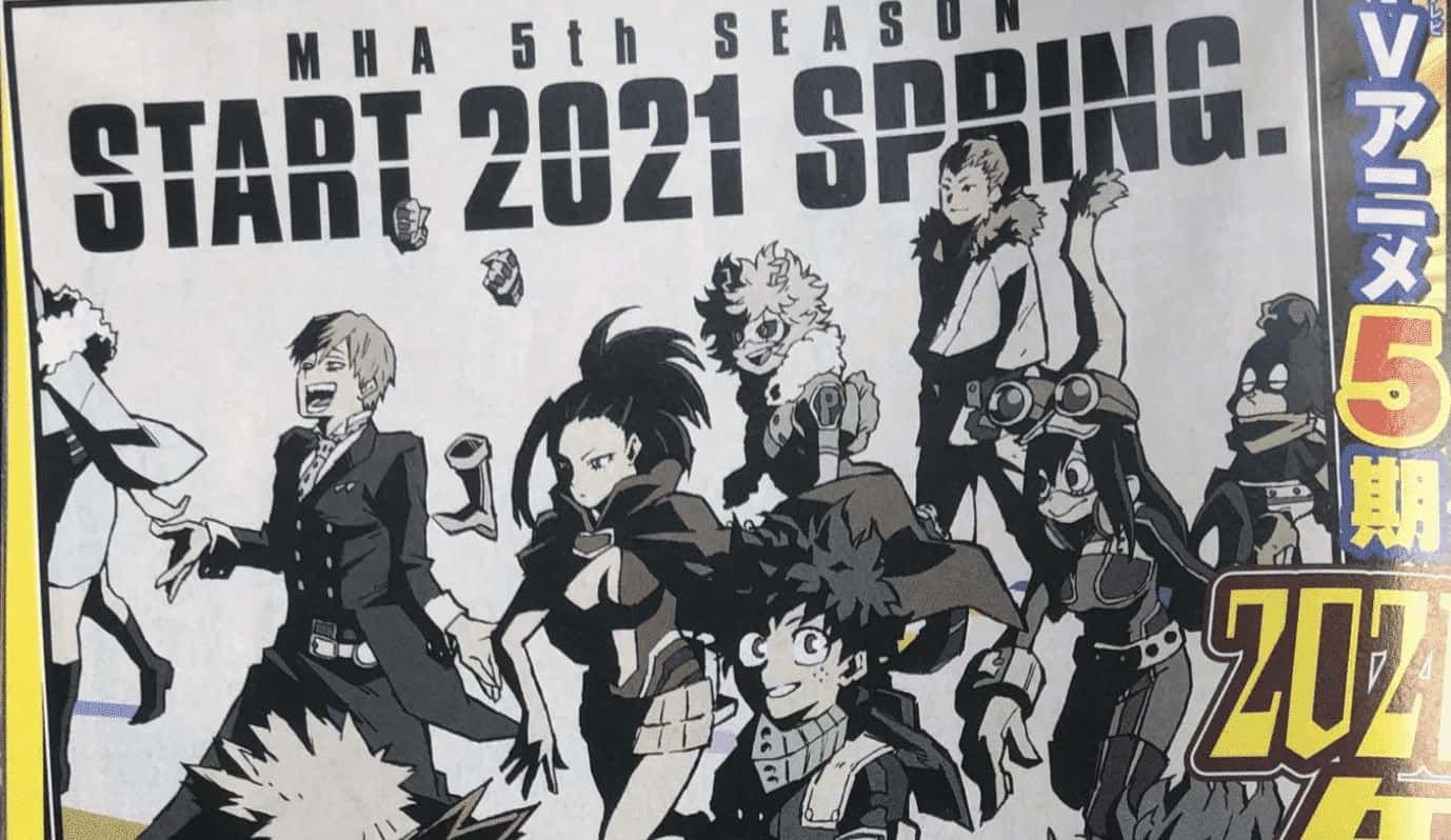 My Hero Academy saison 5 2020 3