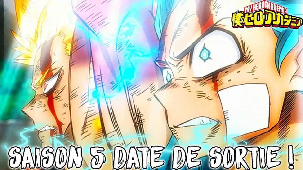 DATE DE SORTIE MY HERO ACADEMIA SAISON 5 20