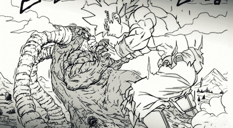 Le géant Susanoo Goku contre Moro : Dragon Ball Super chapitre 66 1