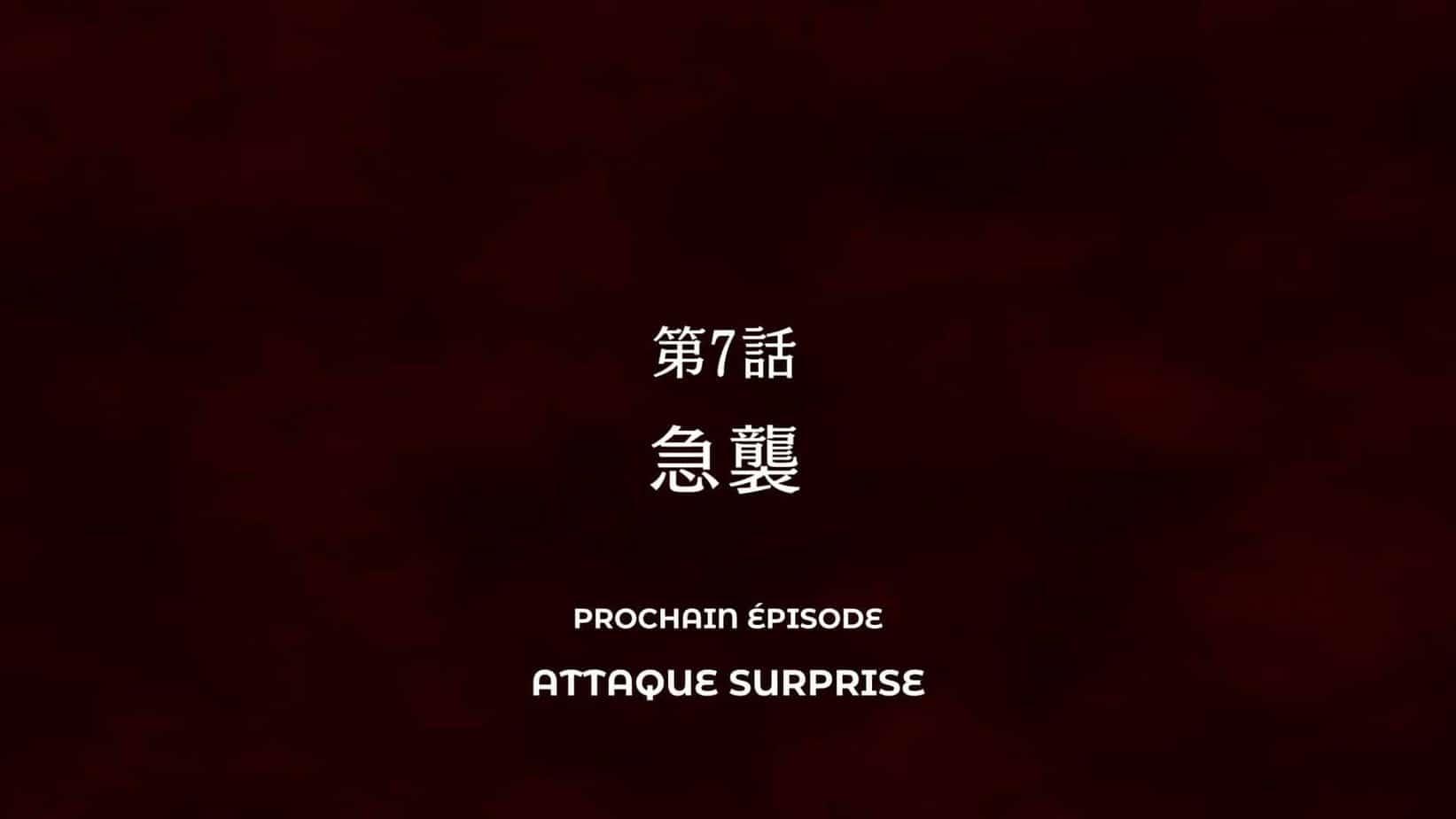 Jujutsu Kaisen Episode 7 vostfr -Attaque Suprise 21