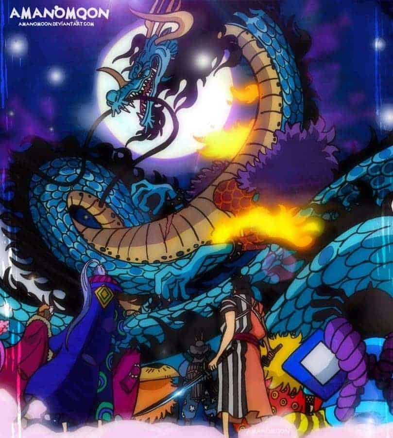 Kaido-vs-Luffy-gear-5 3