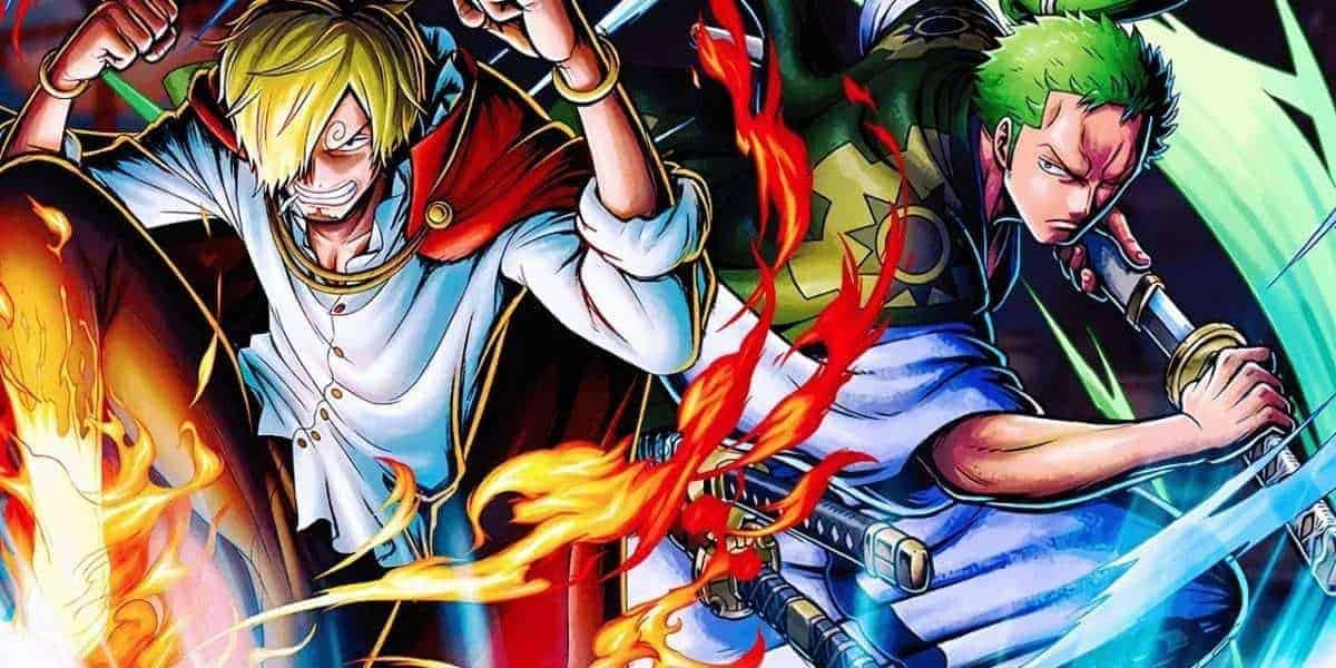 Les Spoilers One Piece Chapitre 997 Zoro et Sanji font face aux méchants 3