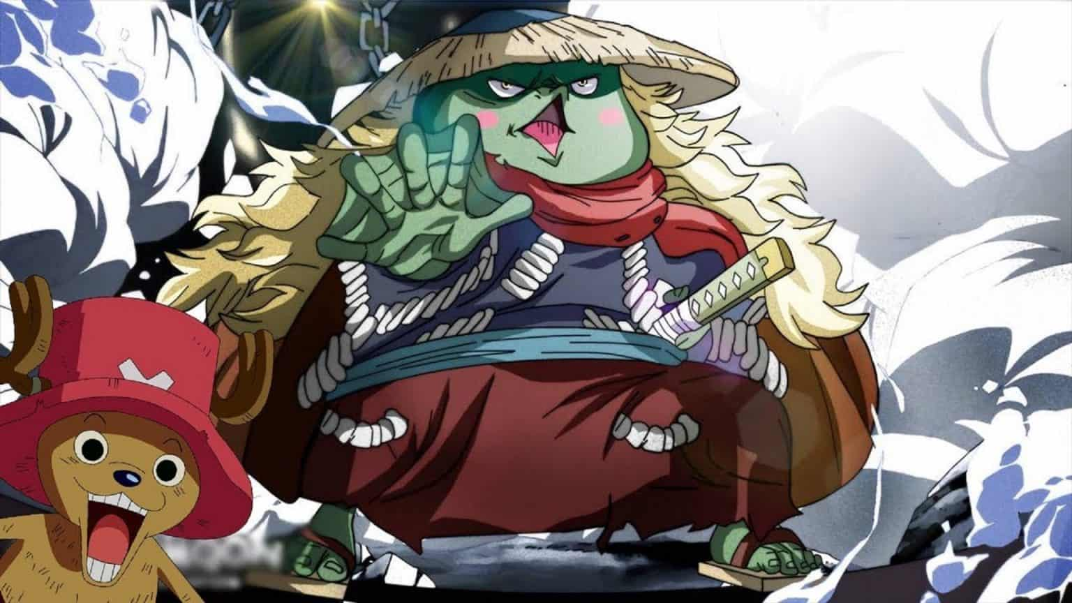 Une scène incroyable de One Piece 948 vostfr a montré la force de Kawamatsu 22