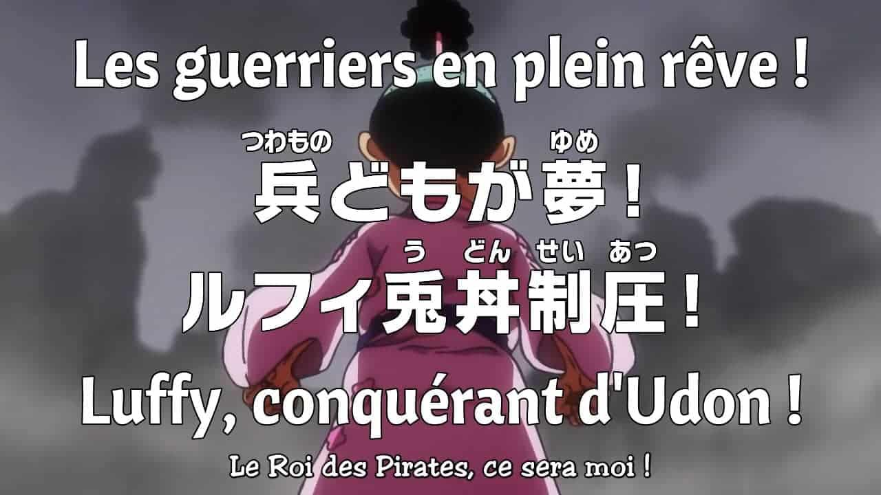 One piece 950 vostfr - Les guerriers en plein rêve ! Luffyn conquérant d'Udon ! 20