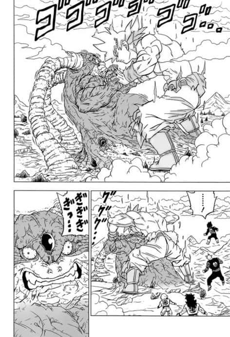 Dragon ball super chapitre 66 le pouvoir SUPRÊME de Goku 4