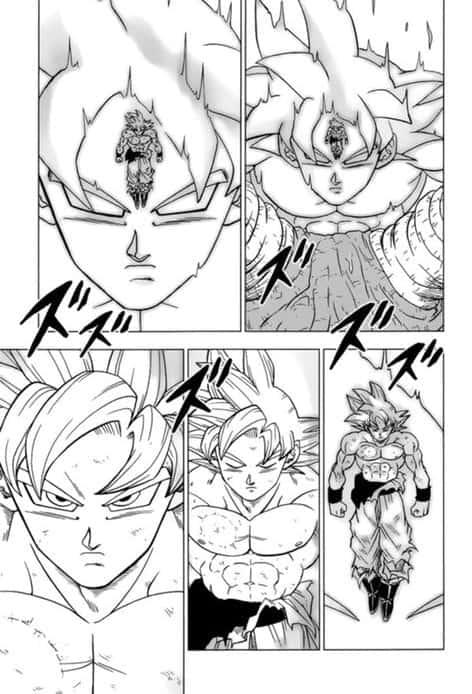 Dragon ball super chapitre 66 le pouvoir SUPRÊME de Goku 3