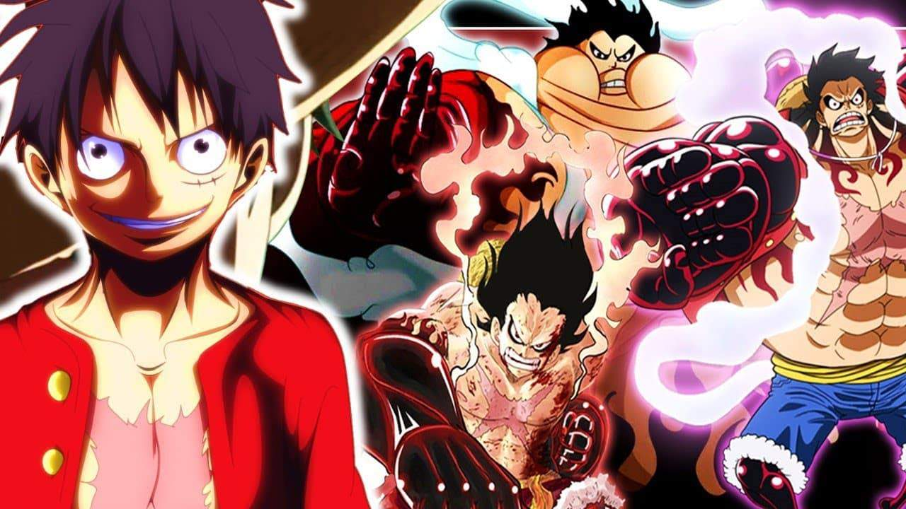 ONE PIECE LUFFY ULTIME POWER-UP LE GEAR 5 24